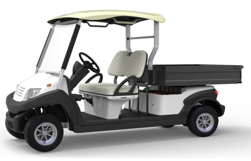 EMC Vantage LWB 2 Seat Long Tray Utility – ALLOY Chassis